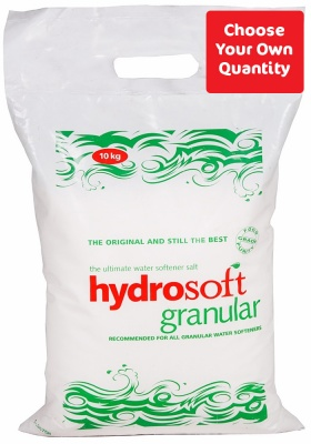 Hydrosoft Granular Salt 10kg - Choose Your Own Quantity