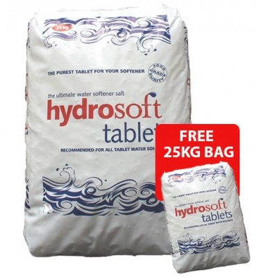 Hydrosoft Tablets 25kg x 30 bags Plus FREE 25kg BAG (WITHOUT FORKLIFT)