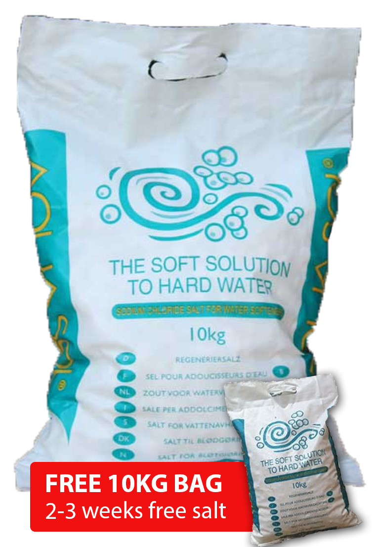 Aquasol Salt Tablets 10kg x 30 bags + FREE 10KG BAG