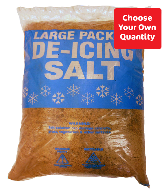 Brown Deicing Rock Salt 25kg - Choose Your Own Quantity