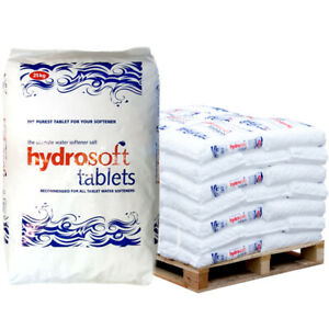 Hydrosoft Tablets 25kg x 40 bags - (NO FORKLIFT REQUIRED) SEE POSTCODES BELOW